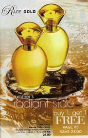 Постер Avon Rare Gold