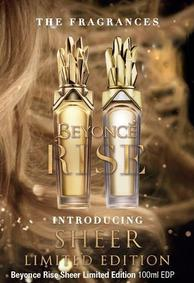 Постер Beyonce Rise Sheer Limited Edition