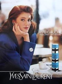 Постер Yves Saint Laurent Rive Gauche