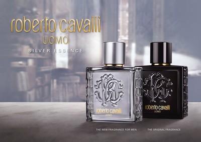 Постер Roberto Cavalli Uomo Silver Essence