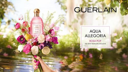 Постер Guerlain Rosa Pop