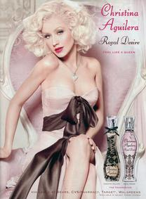 Постер Christina Aguilera Royal Desire