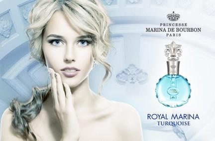 Постер Princesse Marina De Bourbon Royal Marina Turquoise