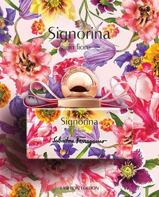 Постер Salvatore Ferragamo Signorina In Fiore Fashion Edition