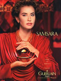 Постер Guerlain Samsara