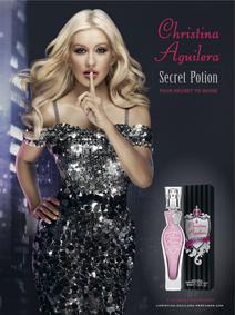 Постер Christina Aguilera Secret Potion