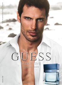 Постер Guess Seductive Homme Blue