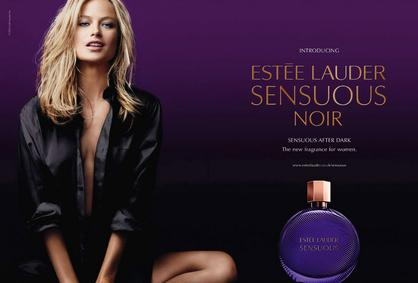 Постер Estee Lauder Sensuous Noir