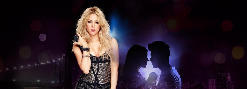 Постер Shakira Rock! The Night