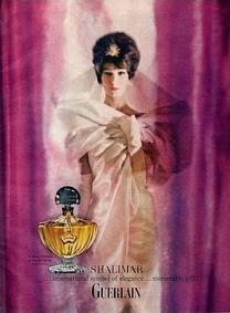 Постер Guerlain Shalimar