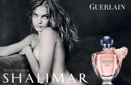 Постер Guerlain Shalimar Parfum Initial