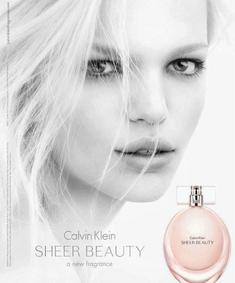 Постер Calvin Klein Sheer Beauty