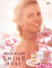 Постер Heidi Klum Shine My Rose