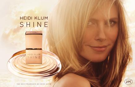 Постер Heidi Klum Shine
