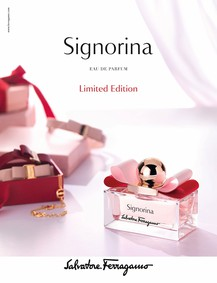 Постер Salvatore Ferragamo Signorina Limited Edition