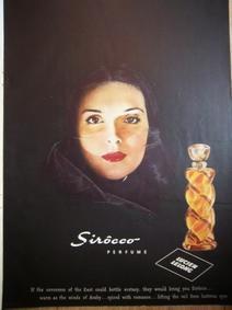 Постер Lucien Lelong Sirocco