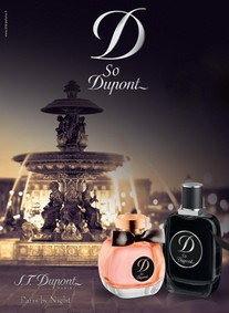 Постер S.T. Dupont So Dupont Paris by Night pour Homme