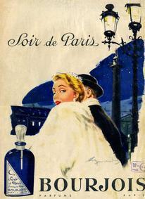 Постер Bourjois Soir De Paris (1928)