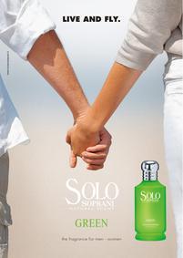 Постер Luciano Soprani Solo Green