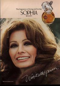 Постер Coty Sophia