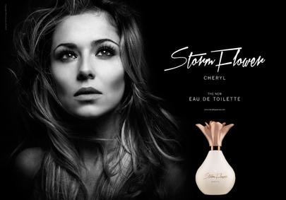 Постер Cheryl Cole StormFlower Eau de Toilette