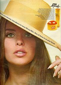 Постер Faberge Straw Hat