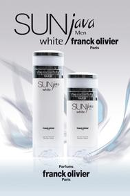 Постер Franck Olivier Sun Java White for Men