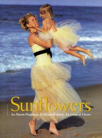 Постер Elizabeth Arden Sunflowers