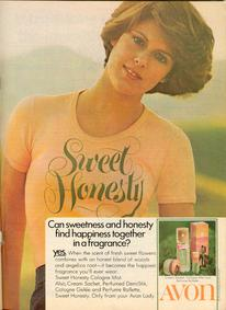 Постер Avon Sweet Honesty