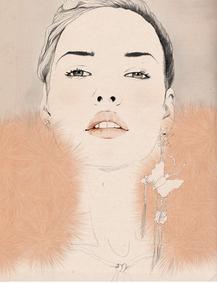 Постер Zara Textures Iris