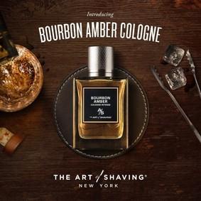 Постер The Art of Shaving Bourbon Amber