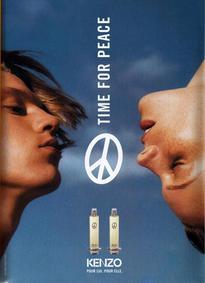 Постер Kenzo Time for Peace