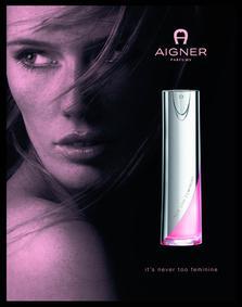 Постер Aigner Too Feminine