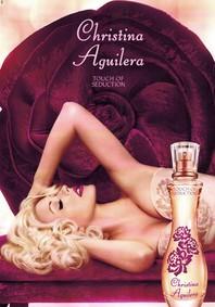 Постер Christina Aguilera Touch of Seduction