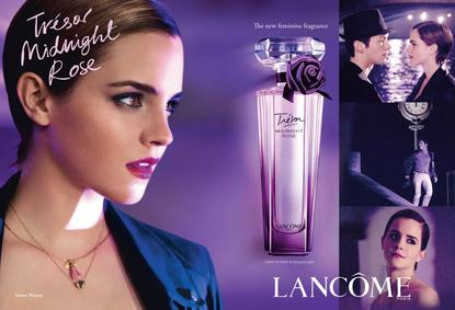 Постер Lancome Trésor Midnight Rose