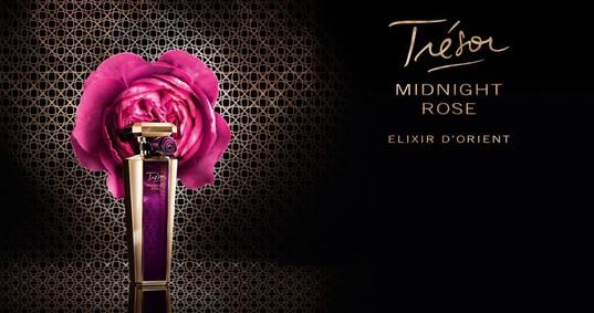 Постер Lancome Tresor Midnight Rose Elixir D'Orient