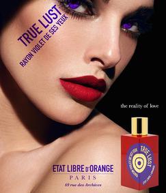 Постер Etat Libre d`Orange True Lust Rayon Violet De Ses Yeux