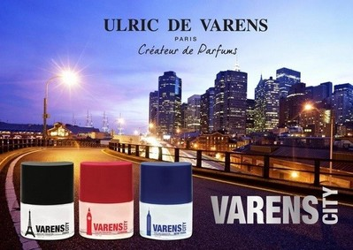 Постер Ulric de Varens City Paris For Men