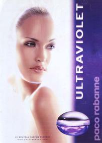 Постер Paco Rabanne Ultraviolet