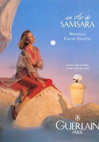 Постер Guerlain Un Air De Samsara