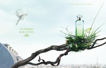 Постер Hermes Un Jardin Sur Le Toit