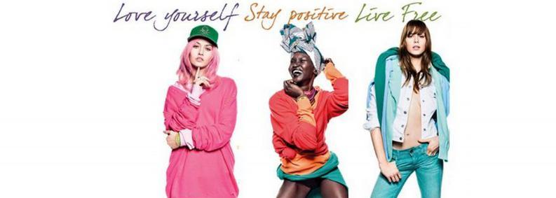 Постер Benetton United Dreams Stay Positive