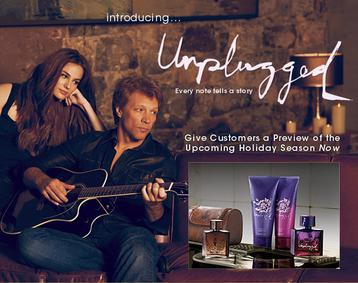 Постер Avon Unplugged for Her