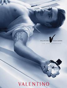 Постер Valentino V pour Homme