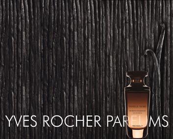 Постер Yves Rocher Vanile Noire Eau de Parfum