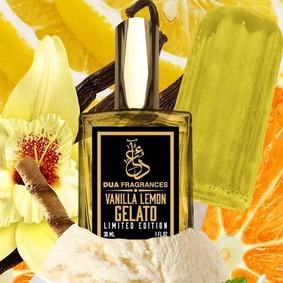 Постер Dua Fragrances Vanilla Lemon Gelato