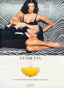 Постер Valentino Vendetta Donna