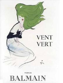Постер Balmain Vent Vert (1947)