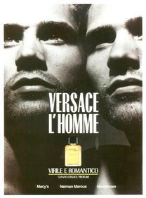Постер Versace L'Homme