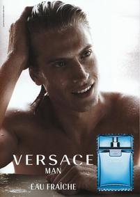 Постер Versace Man Eau Fraiche